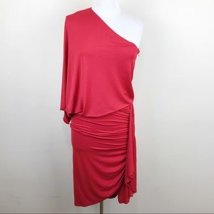 Michael Kors Collection Italy Red Body Con Dress 6